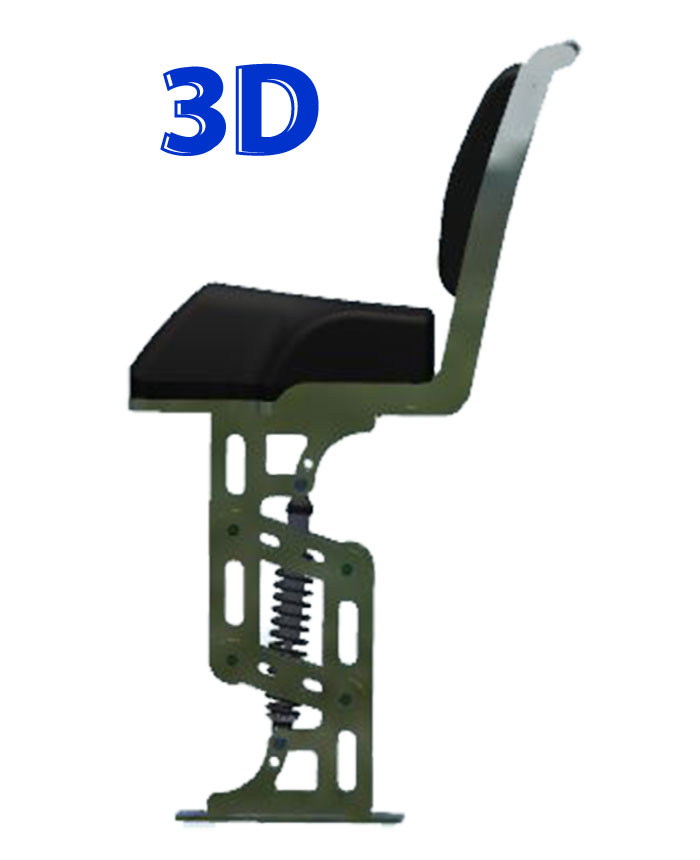 HSC SEATS Ermioni Series Jockey 3d